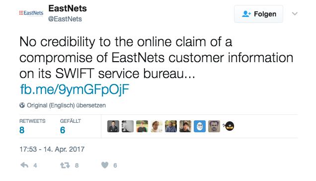 EastNets Tweet