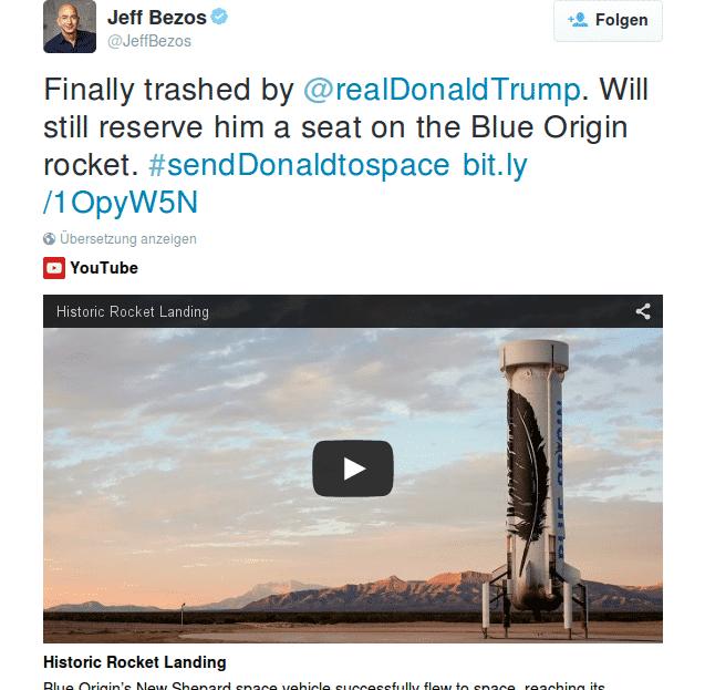 Trump will das Internt schließen