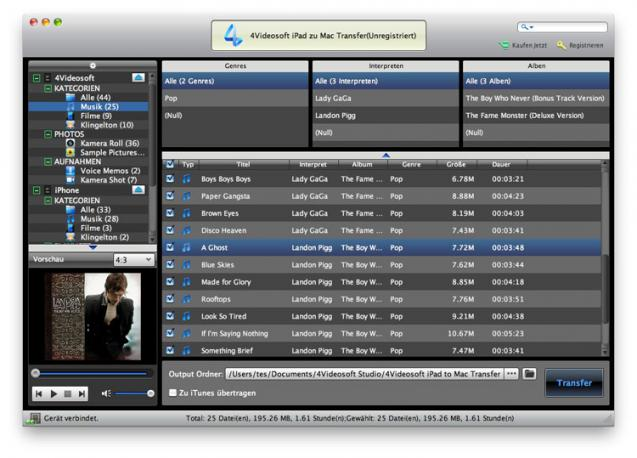 4Videosoft iPad zu Mac Transfer | heise Download