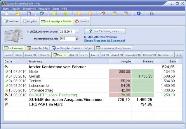 Abakus Haushaltsbuch Heise Download