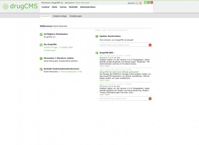 drugCMS | heise Download