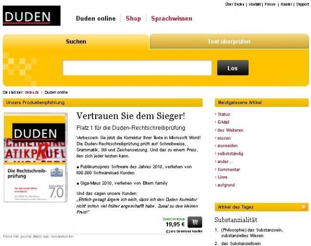 Duden Online Heise Download