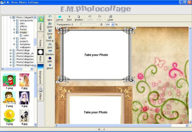 E.M. Free Photo Collage | heise Download
