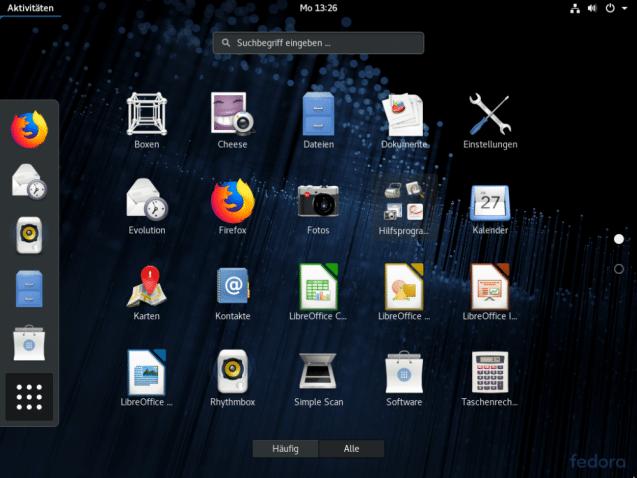 Fedora | heise Download