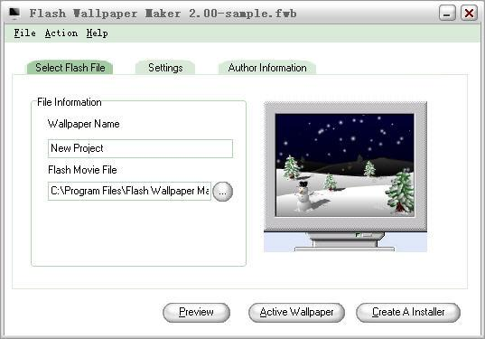 Flash Wallpaper Maker   heise Download