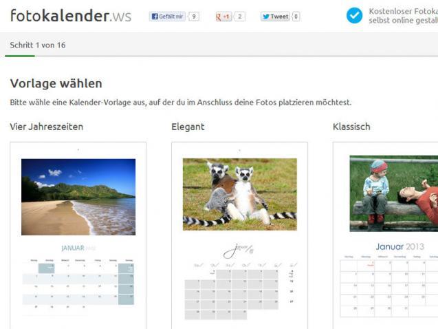 Fotokalender Ws Kostenlos Online Gestalten Heise Download