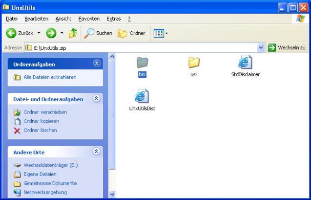 GNU utilities for Win32 | heise Download