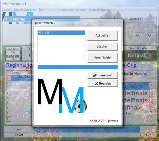 Mini Manager Der Fussball Manager Heise Download