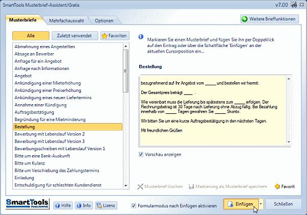 Musterbrief-Assistent für Word | heise Download