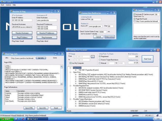 net tools 5.0 download