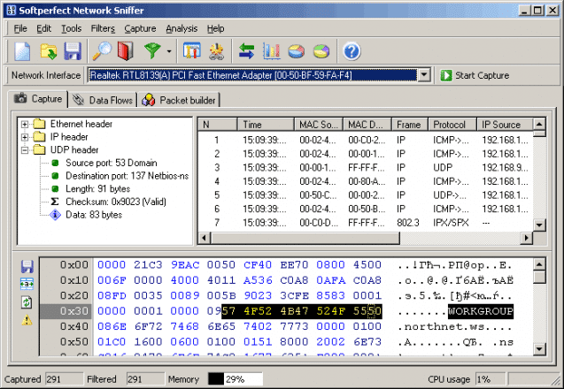 Network Sniffer | heise Download