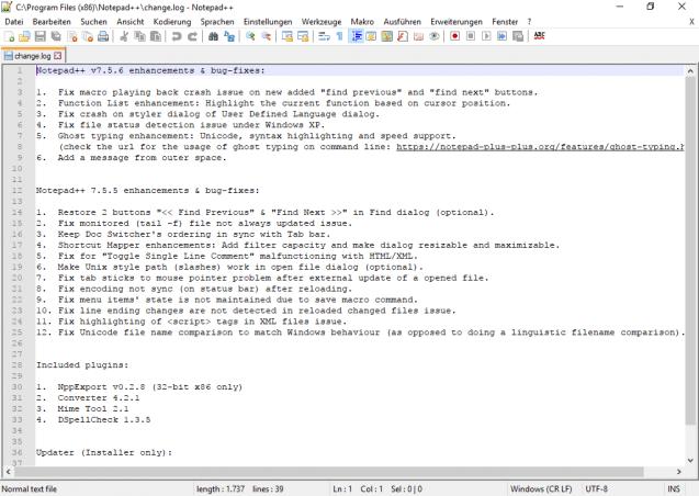 notepad++ descargar gratis 32 bits