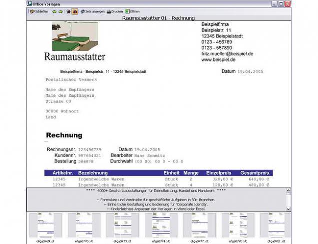Office 2010 Vorlagen | heise Download
