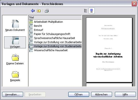 OpenOffice Vorlagen-Paket | heise Download