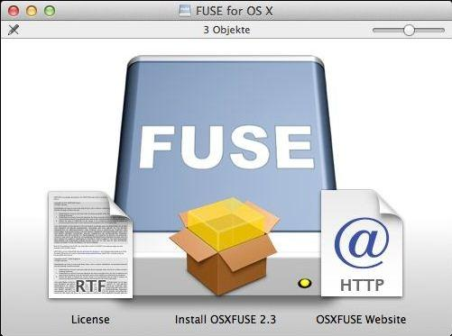 OSXFUSE (FUSE for OS X) | heise Download