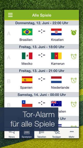 Pocket Wm Fussball Live Ticker Fur Ios Android Heise Download