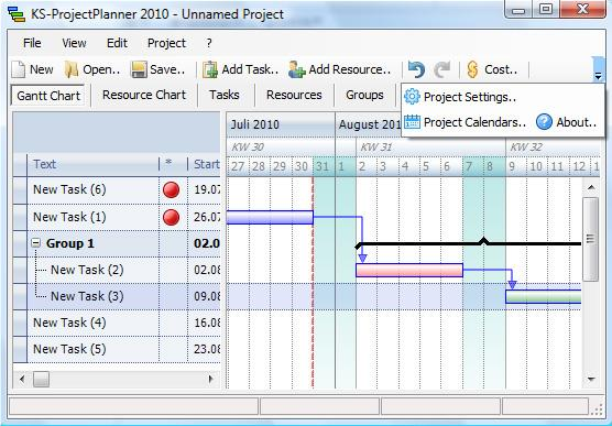 project planner download