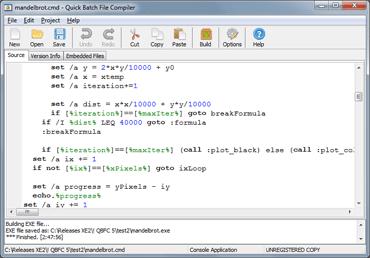 Bat to Exe Converter (Quick Batch File Compiler) | heise