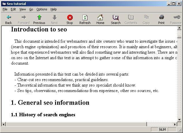SEO tutorial | heise Download