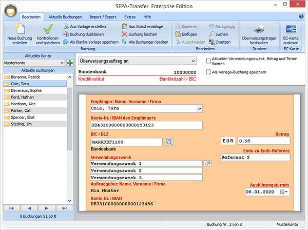 SEPA-Transfer (ehemals DTA-Überweisung) | heise Download