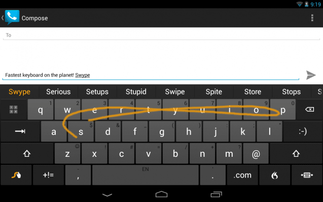 swype android kostenlos