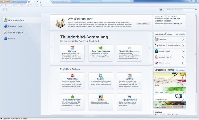 Mozilla Thunderbird | heise Download