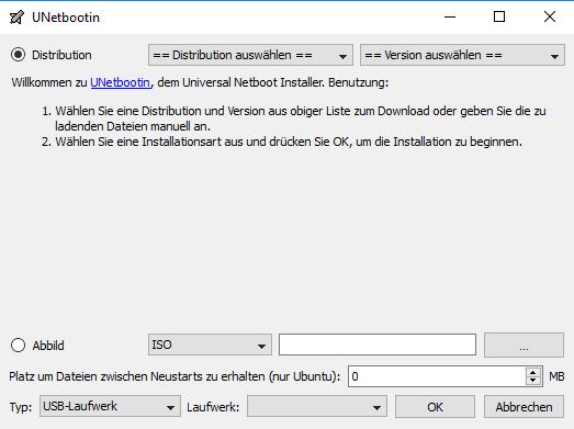 UNetbootin (Universal Netboot Installer) | heise Download