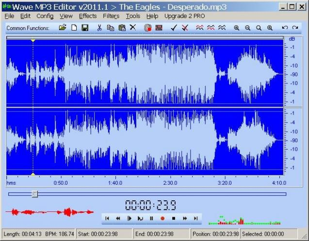 Wave MP3 Editor PRO | heise Download