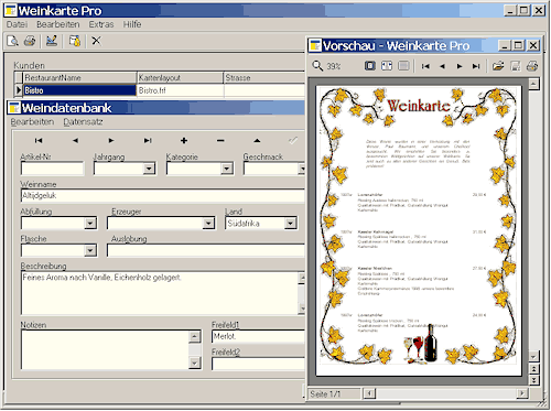 Weinkarte Pro Heise Download
