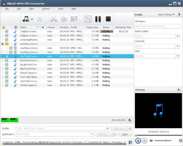 WMA MP3 Converter | heise Download