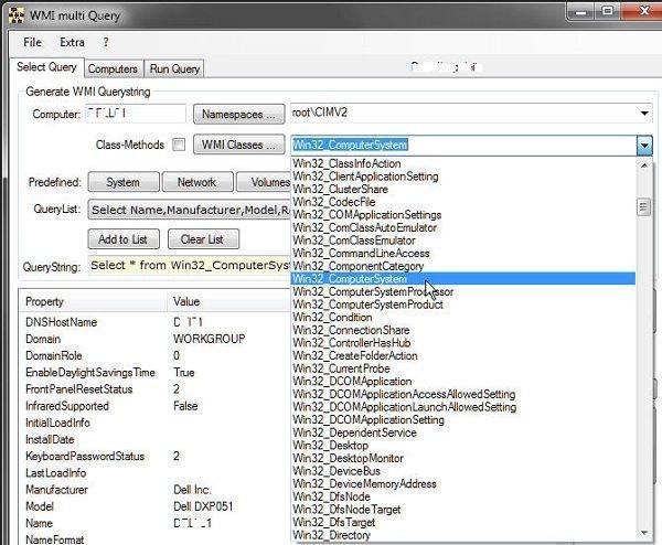 Wmi Query Software