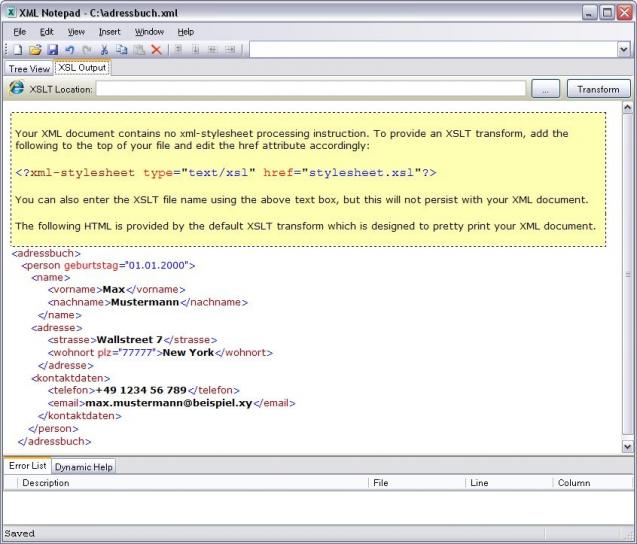 XML Notepad 2007 | heise Download