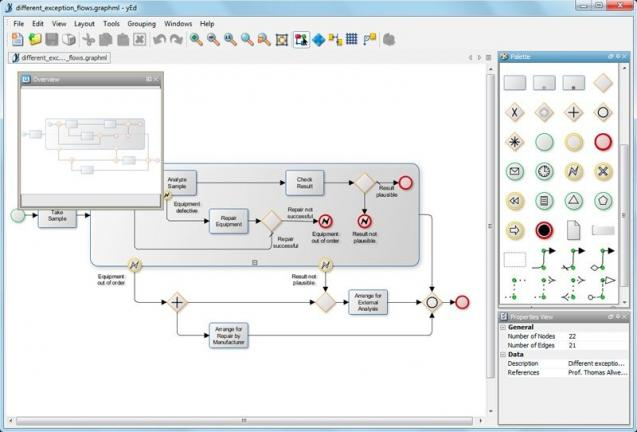 yEd Graph Editor   heise Download