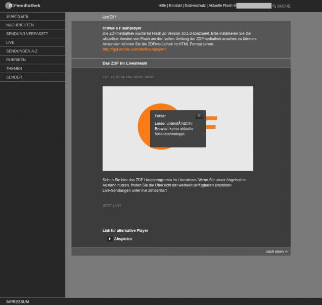 Im Web Surfen Ohne Den Adobe Flash Player Heise Download