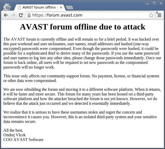 Avast-Forum