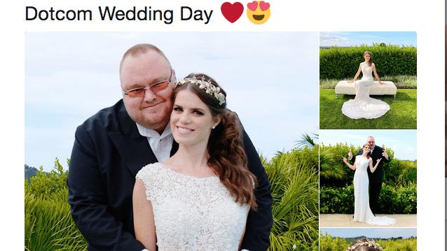 Kim Dotcom hat geheiratet - und will Neuseeland verklagen