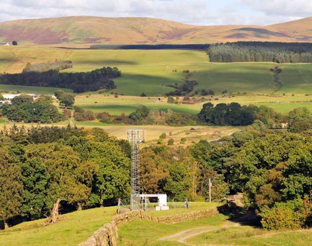 Ländliche Gebiete (hier in Schottland) sind nicht ausreichend abgedeckt.
