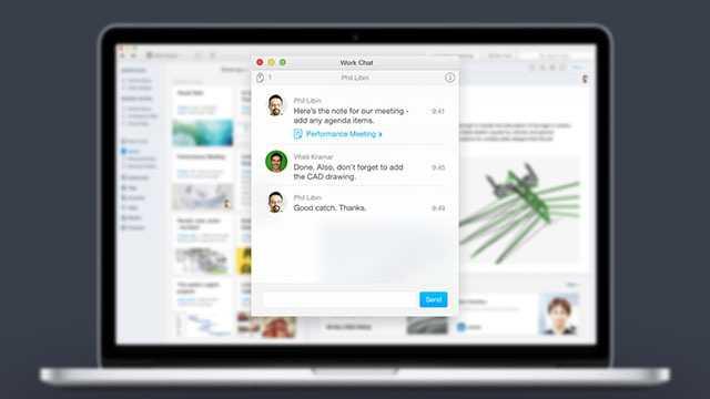 Der Work Chat soll Evernote interessanter für den Unternehmenseinsatz machen.