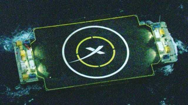 SpaceX: Ziel erreicht, Recycling scheitert
