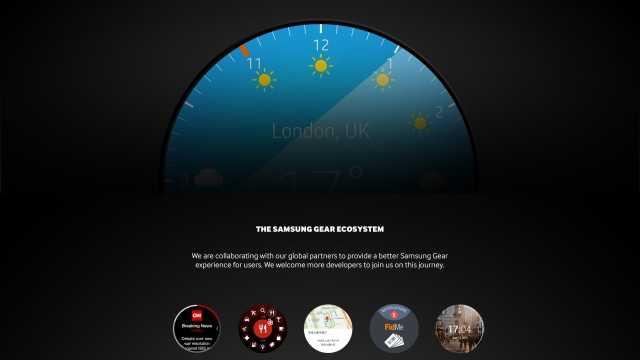 Samsung gibt Hinweise auf runde Gear-Smartwatch