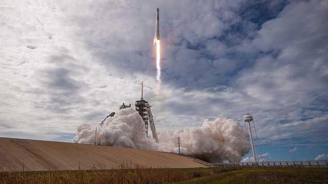 SapceX schickt gebrauchte Raumkapsel zur ISS