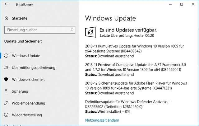 Großes Update fixt zahlreiche Bugs in Windows 10 Version 1809