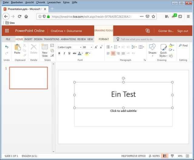 Der PowerPoint-Bug