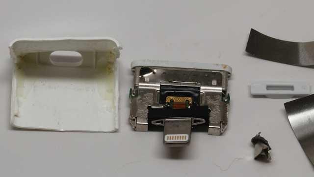 Lightning-Adapter von Innen | Mac & i