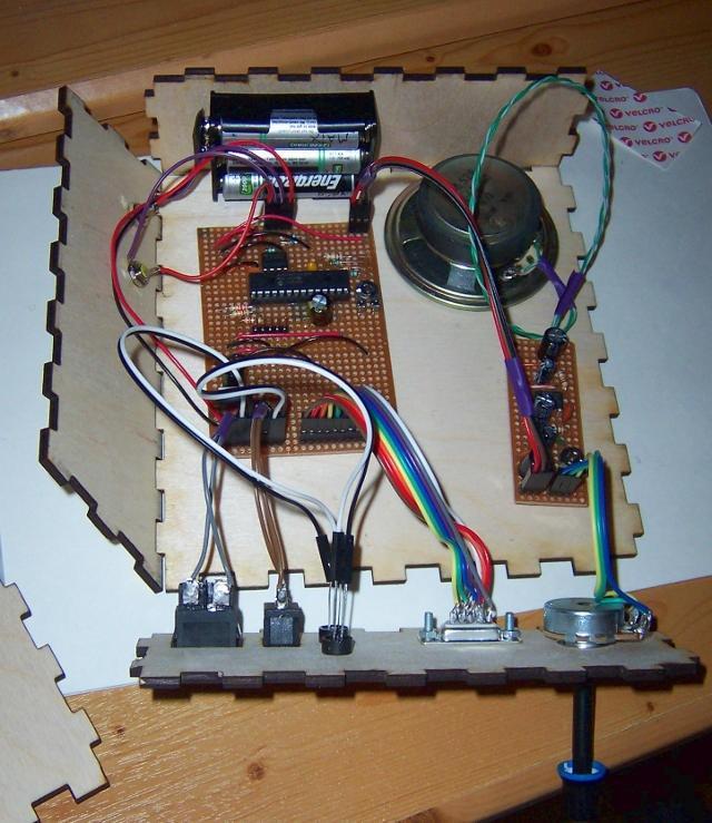 Blick in das Ocelot Arcade System