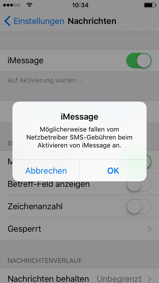 unberechtigt sms lesen