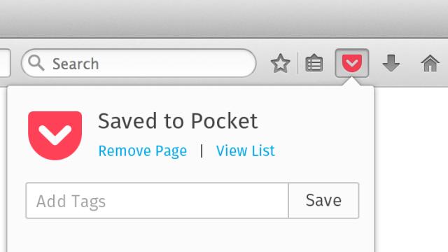Firefox-Plug-in Pocket