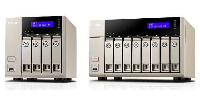 Qnap-NAS TVS x63 463 863 AMD G