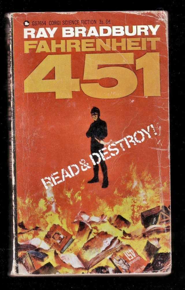 """451 ist eine Verneigung vor Ray Bradburys Roman """"Fahrenheit 451""""."""