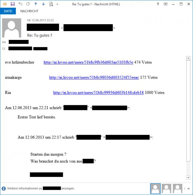 Was soll man in einer Dating-E-Mail sagen Geschwindigkeit Dating am Fluss ca